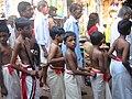 Boys at Kalaripayattu class.jpg