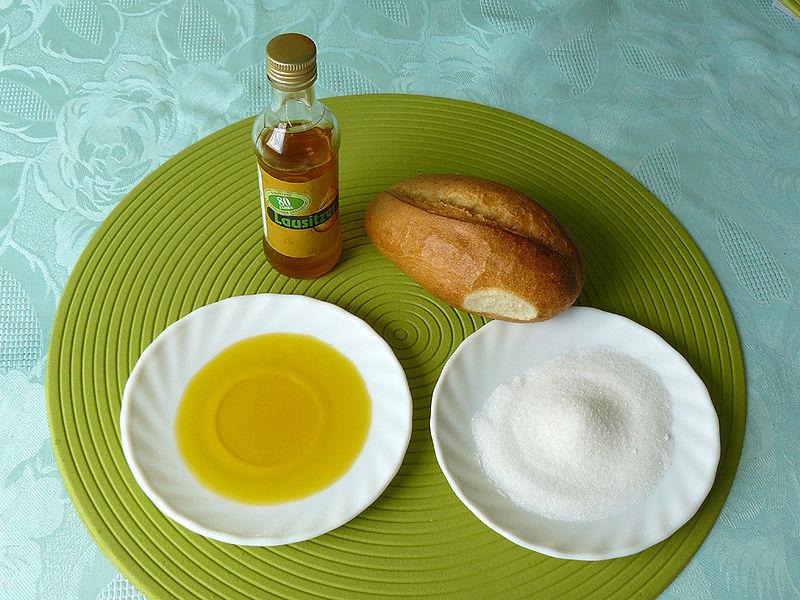jedzenie - olej lniany