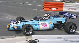 Tim Schenken - A Rondel Racing Brabham BT36, as driven by Schenken in the 1971 European Formula Two season.