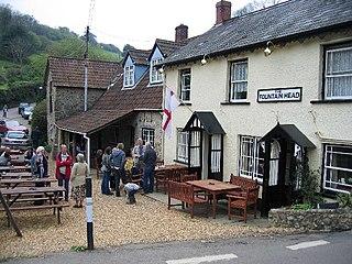 Branscombe Human settlement in England