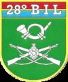 Brasão do 28º Batalhão de Infantaria Leve.png
