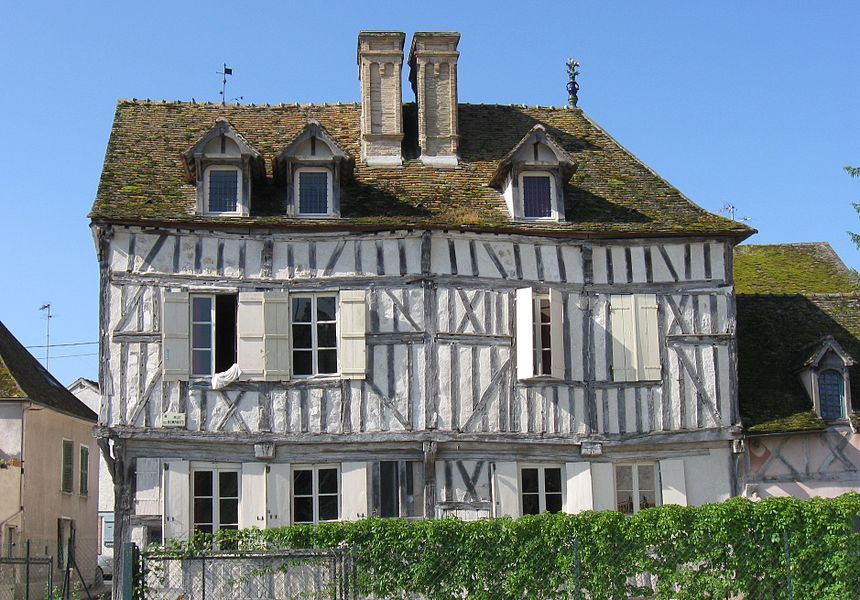 Hostel du Minage. (10 rue des Remparts, Bray-sur-Seine, département de la Seine-et-Marne, région Île-de-France).