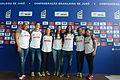 Brazil judo women's team 2016.jpg