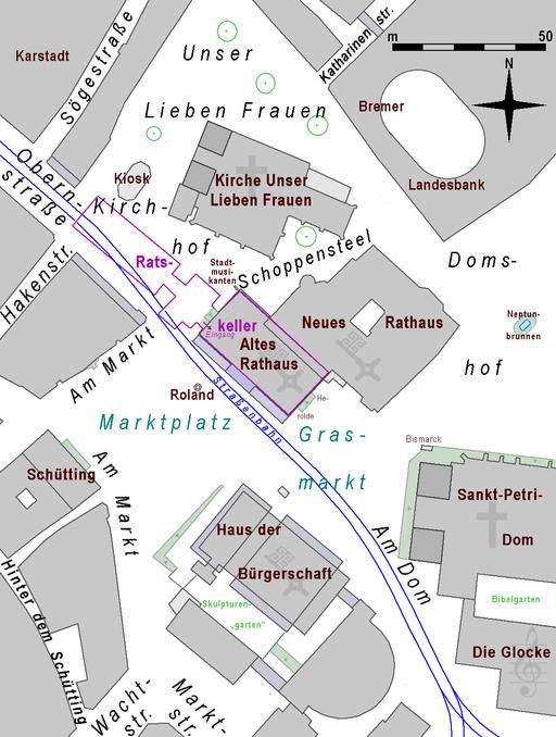 Bremen Rathaus Markt Bürgerschaft Uns.Lb.Frauen