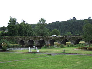 Inistioge Town in Leinster, Ireland