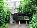 Bridge over the cycle path - geograph.org.uk - 877250.jpg