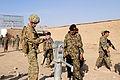 Brig. Gen. Sinclair examines water pump in Zharay district DVIDS489690.jpg