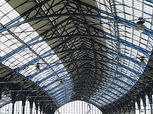 Brighton railway station - The station roof as refurbished