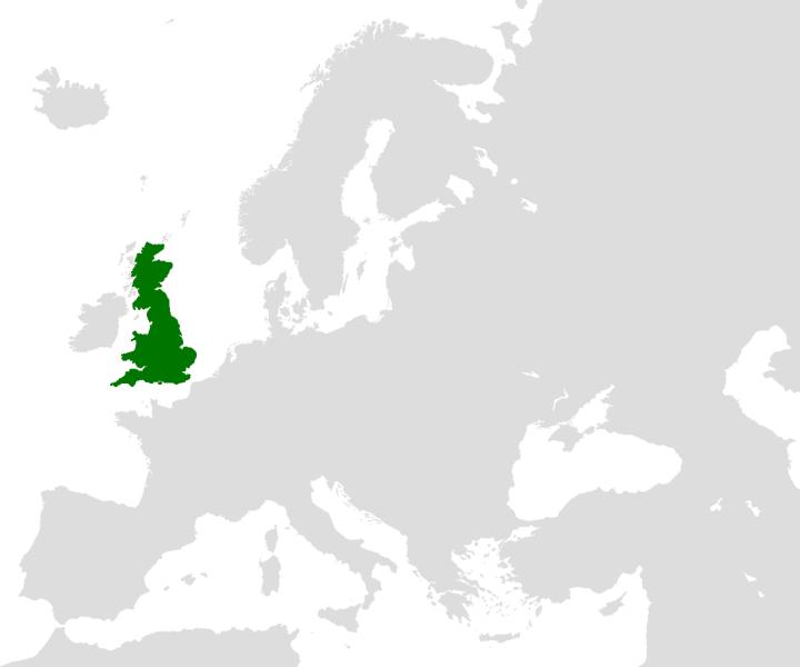 Britain (island) in Europe
