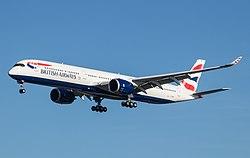 British Airways A350-1000 (G-XWBD) @ LHR, Jan 2020.jpg