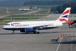 British Airways Airbus A319-131 G-EUPR (21215631083).jpg