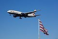 British Airways Boeing 777 flying over Fort Mifflin.jpg