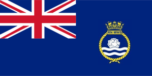 Royal Naval Minewatching Service - Ensign of Royal Naval Mine Watching Service, 1954–1962