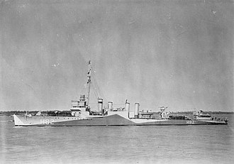 USS Aulick (DD-258) - Image: British Warships of the Second World War FL3198
