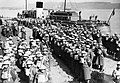 British troops lined up at Gourock in Scotland before embarking for Norway, 20 April 1940. N3.jpg