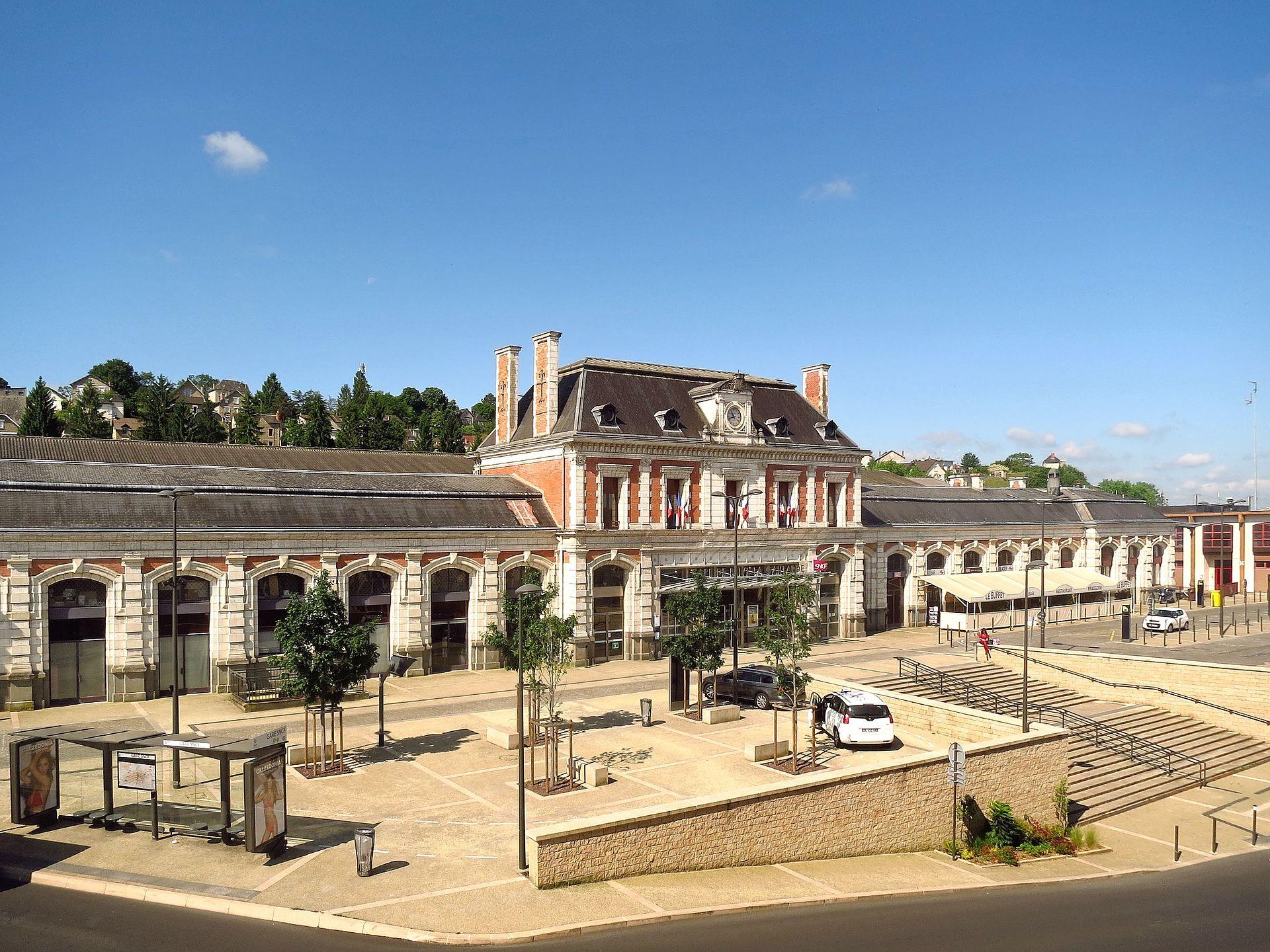Gare de brive la gaillarde wikip dia for Garage de la gare bretigny