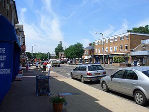 Broadstone, Dorset - Image: Broadway Broadstone