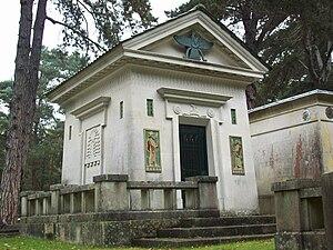 Zoroastrian Trust Funds of Europe - Zoroastrian building at Brookwood Cemetery