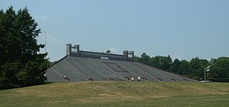 Brown Stadium - Image: Brown Stad Main Stands 1