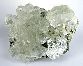 Brucite - Brucite crystals from the Sverdlovsk Region, Urals, Russia (size: 10.5 x 7.8 x 7.4 cm