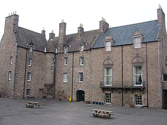 Patrick Warrender - Bruntsfield House, Edinburgh - the Warrenders' Edinburgh house