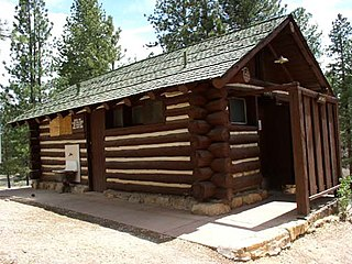 Bryce Canyon campground comfort stations United States historic place