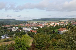 Buchen, view from Wartberg