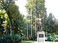 Bucuresti, Romania, Academia Romana, Calea Victoriei, nr. 121-127, sect. 1 (Statuie in gradina) (2).JPG