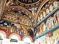 Bucuresti, Romania, Biserica Sfantul Gheorghe Nou (pridvor, pereti); B-II-m-A-18225.JPG