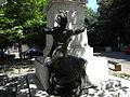 Bucuresti, Romania, Str. Vasile Lascar sect.2; Statuia lui Vasile Lascar; B-III-m-B-20001 (detaliu 2).JPG