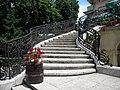 Bucuresti, Romania. Piata Lahovari. Casa Oamenilor de Stiinta. (Scara din gradina).jpg
