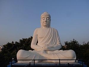 Latur - Buddha statue in Buddha Garden in Latur, Maharastra