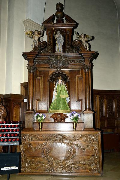 De Muttergottesaltor an der Kierch zu Buerschent.