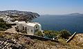 Building at the crater rim near Akrotiri - Santorini - Greece - 01.jpg