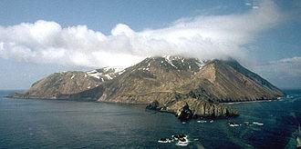 Buldir Volcano - Buldir Volcano from the east