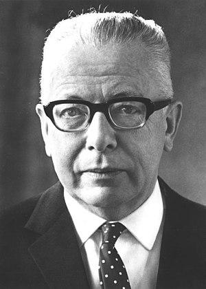 Gustav Heinemann - Gustav Heinemann in 1969