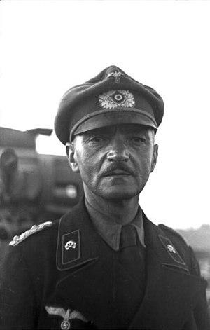Curt von Jesser - Image: Bundesarchiv Bild 101I 187 0206 33A, Russland, Panzersoldat