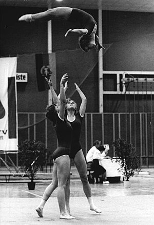 SV Dynamo - Acrobatics- show in 1982