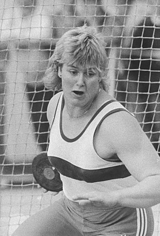 Athletics at the 1990 Goodwill Games - Ilke Wyludda won East Germany's only gold in the women's discus.