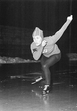 Helga Haase - Helga Haase in action during the 1967 East German Championships