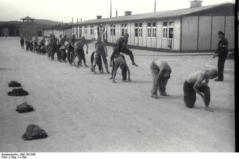 Bundesarchiv Bild 192-048, KZ Mauthausen, Jugendliche Häftlinge