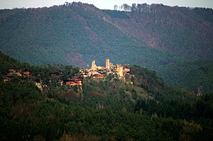 Altdahn Castle - Image: Burg Alt Dahn 0012a