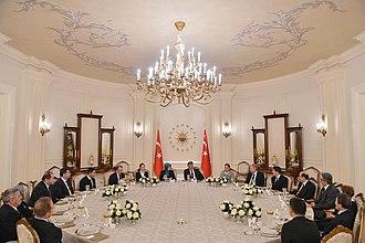 Presidential Seal of Turkey - Image: Burhanettin Yeşilyurt