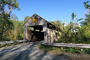 Burkeville Covered Bridge - Burkeville Covered Bridge