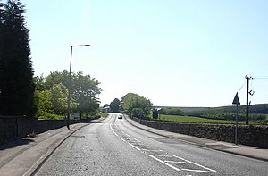 Dunnockshaw and Clowbridge - Image: Burnley Road geograph.org.uk 1332554