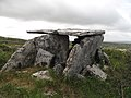 Burren - near Green Road - Wedge Tomb - panoramio.jpg