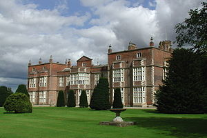 Burton Constable Hall - The garden front