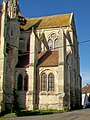 Bury (60), église Saint-Lucien, chœur côté sud-est.jpg