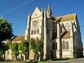 Bury (60), église Saint-Lucien, façade sud-est.jpg