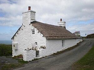 Edward Faragher - Edward Faragher's home in Cregneash